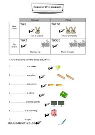 Demonstrative Adjectives In Spanish Practice Worksheets ...