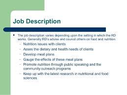 Dietetics and Nutrition