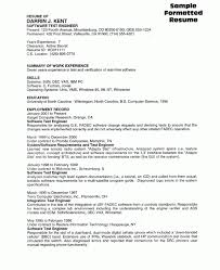 terrific sample resume for experienced software tester 48 for your resume  for graduate school with sample