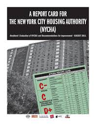 Nycha Report Card By Social Media Issuu