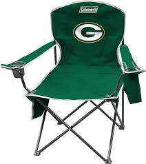 Amazon.com : NFL Portable Folding Chair with Cooler and Carrying ...