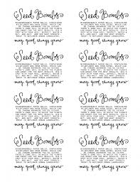 Biodegradable Paper With Flower Seeds Seed Bomb Labels Bees Seed Bombs Seeds Garden Crafts