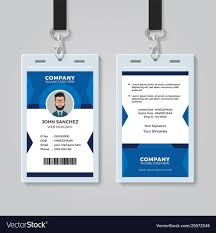 Identification Card Samples Office Identity Card Template