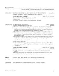 writing mba resumes feld career center 2010 29 31