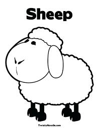 Sheep Coloring Pages Preschool Popular Sheep Coloring Sheet