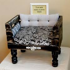 luxury dog bed furniture. Luxury Dog Furniture - Luxury Designer Antique Black Damask Dog Bed Beds  Blankets \u0026 Furniture Bed D