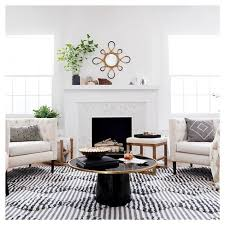 round black coffee table. $124.98clearance Round Black Coffee Table