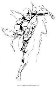 Disegno Flash34 Personaggio Cartone Animato Da Colorare
