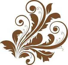 Decorative Design Enchanting Vector Decorative Floral Design Free Vector In Encapsulated