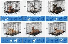 Dog Crate Size Chart Finding The Best Dog Crate For Your Dog Dog Crate Sizes