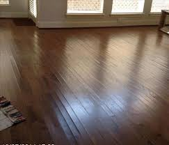 wood floors cupping after a water damage