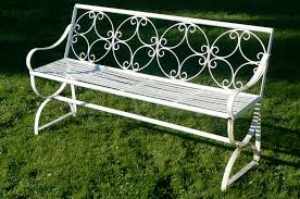 garden benches metal. Wonderful Benches Wrought Iron Garden Benches Metal Mexico Bench To L