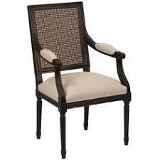 orleans arm chair cane back safavieh home furnishings