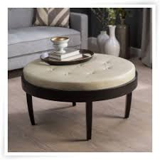permalink to fascinating round leather coffee tables with storage