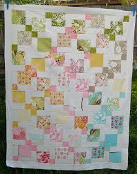 Moda Hunky Dory charm pack quilt using disappearing 9 patch quilt ... & Free Charm Pack Quilt Patterns | ... Hunky Dory charm pack quilt using  disappearing Adamdwight.com