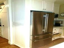 built in refrigerator cabinet. Cabinet Fridge Panel Built In Refrigerator Cabinets Large Size Of