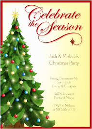 Sample Of Christmas Party Invitation Sample Christmas Party Invitation Party Invitations