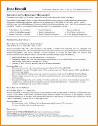 Cover Letter Restaurant General Manager Resume Beautiful 107 Best