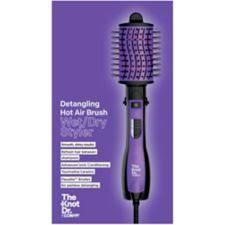 <b>The Knot Dr</b>. By Conair Wet/Dry Detangling Hot Air Hair Brush ...