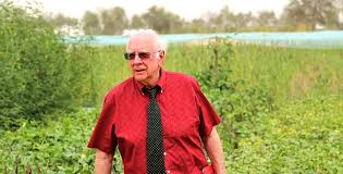 ICBA plays host to veteran US biosaline agriculture scientist |  International Center for Biosaline Agriculture