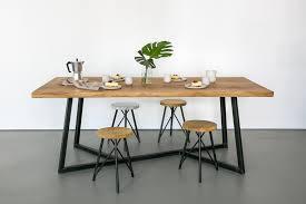 oak steel table vinterior rh vinterior co nutsandwoods oak steel table round oak steel coffee table