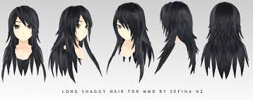 Hair Style Anime long shaggy hairdl by sefinanz on deviantart 6290 by wearticles.com