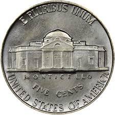 1940 5c Ms Jefferson Five Cents Ngc