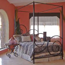 Alexander Wrought Iron Canopy Bed