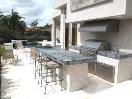 Fresh And Modern Outdoor Kitchens - Outdoor kitchen countertop ideas