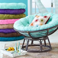 the pier 1 papasan color pad shown is their turquoise i believe i don t necessarily want the papasan but the color is close to what i have in mind