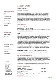 nursing supervisor resumes bank teller 4 resume examples sample resume resume resume examples