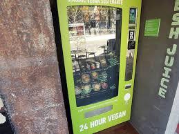 Vegan Vending Machine Melbourne Extraordinary Butchers Diner Restaurants In Melbourne Melbourne