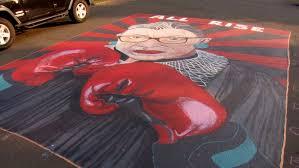 Mural is a digital workspace for visual collaboration. Mural Honoring Justice Ginsburg In Ne Portland Neighborhood All Rise Katu