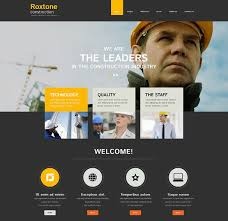 Templates For Websites Stunning 28 Construction Website Themes Templates Free Premium Templates