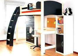 bunk bed with office underneath. Bunk Bed With Office Underneath Top Desk