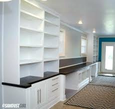 office built in cabinets builtin desk plans bookcase free throughout ideas 1