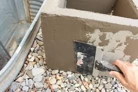 diy modern minimal concrete planter boxes view larger