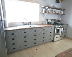 Kitchens With Open Shelving Ana White Open Shelves For Our Cabin Kitchen Diy Projects