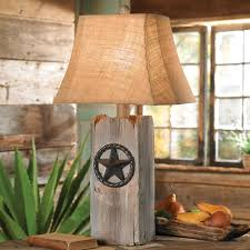 rustic star table lamp 120 at lone star western decor sewing