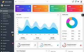Chart Icon Bootstrap Bulona Bootstrap Admin Dashboard Template