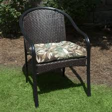 plantation patterns hampton bay seabreeze cushion available at the home depot