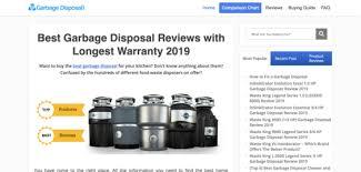 Garbage Disposal Comparison Chart Garbage Disposal Mag Business Sold On Flippa Advertising