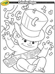 We're assembling a huge collection of printable disney coloring pages from around the internet. New Year S Day Free Coloring Pages Crayola Com