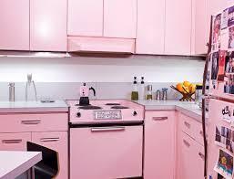 pink kitchen images