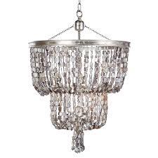 aidan gray blu opal two tier chandelier