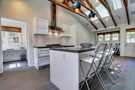white cottage kitchens. Small Cottage Kitchen With Soapstone Countertops And White Cabinets Kitchens