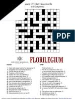 Garret is a crossword clue for which we have 1 possible answer and we have spotted 44 times in this crossword clue was last seen on 23 october 2020 in the independent's concise crossword. Pocket Crossword Dictionary Pdf Pdf Crossword Linguistics