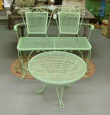 vintage metal patio furniture.  Metal Metal Patio Chairs Black A Set Of Table And Chair  Made Vintage Furniture E