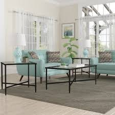 contemporary coffee table. melanie 3 piece coffee table set contemporary
