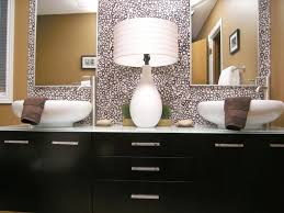 Double Mirrored Bathroom Cabinet Bathroom Luxury Double Mirrors For Bathroom With Decorative White
